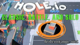A Detailed Guide on Hole.io Modes: Classic, Battle, and Solo
