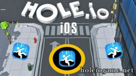 Hole.io Game On iOS