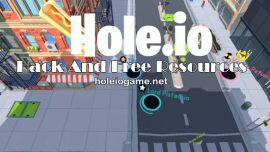 Hole.io Hack and free resources